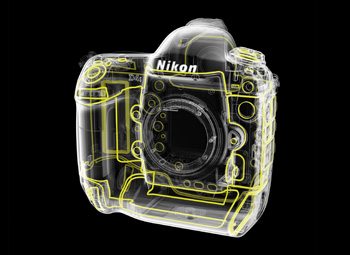 Nikon D4S Weather Seals - Internal Detail