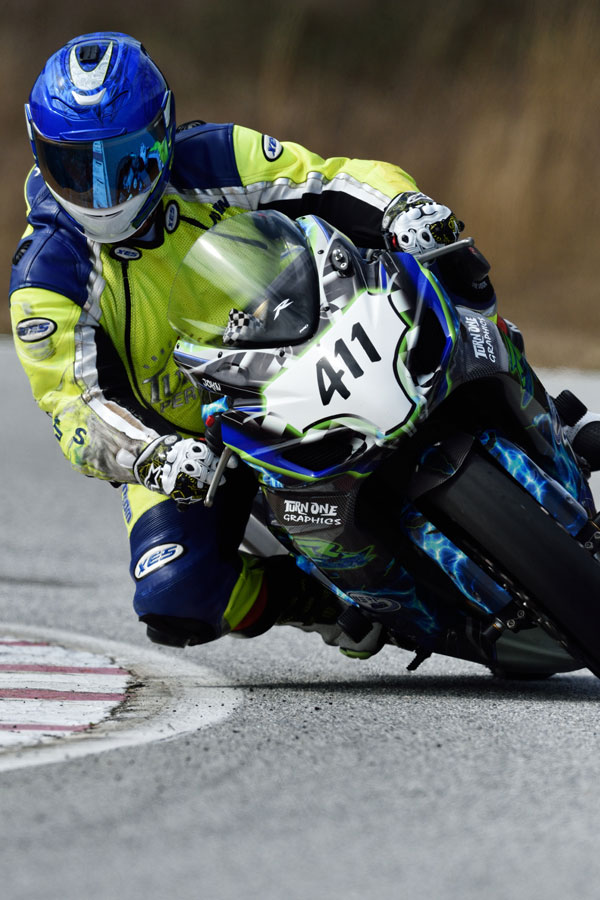Nikon D4S Photo - Motorcycle Racer
