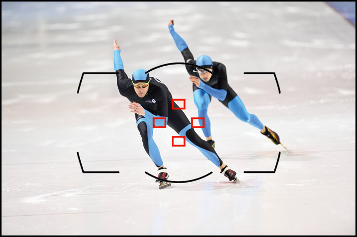 Nikon D4S Photo - Speed Skaters